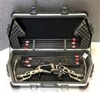 HOYT ARCHERY CARBON SPYDER 34 WT/65 & DL 29. SKB HARD CASE